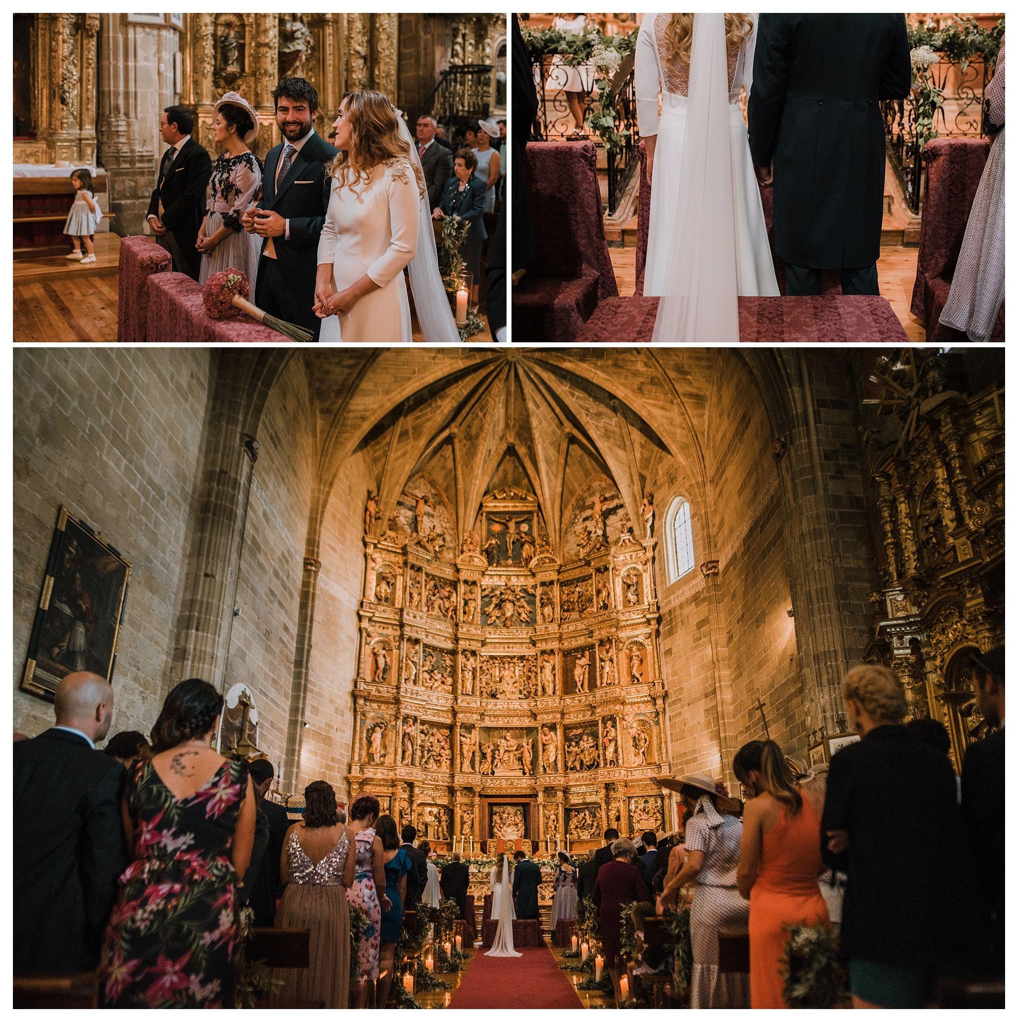 boda en bodegas CVNE